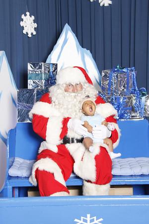 Daniel with Santa