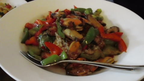 Stir fry type dish
