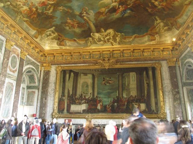 Versailles roof