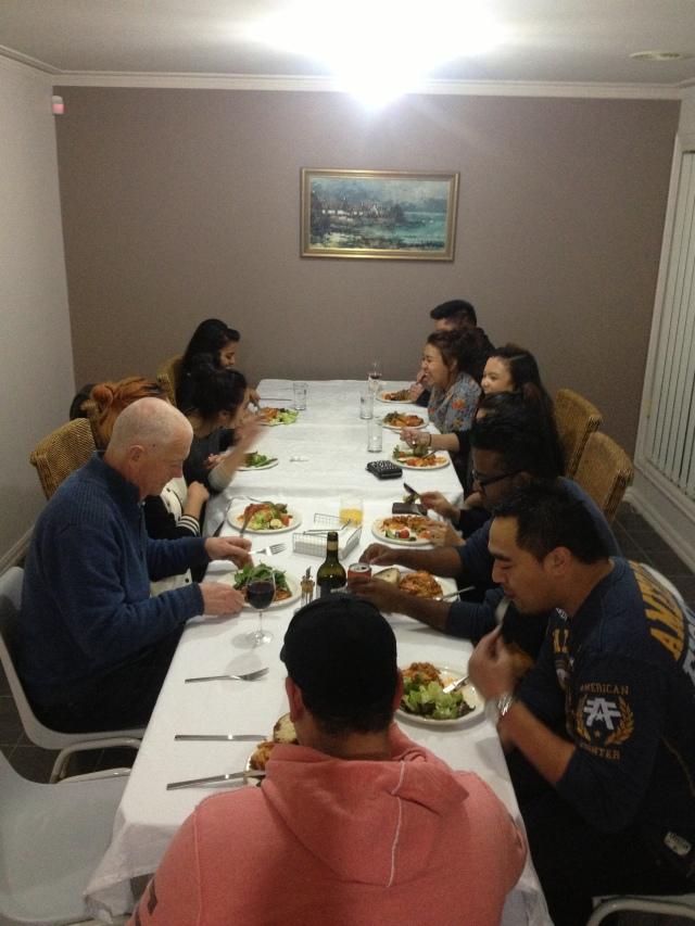 WYD dinner