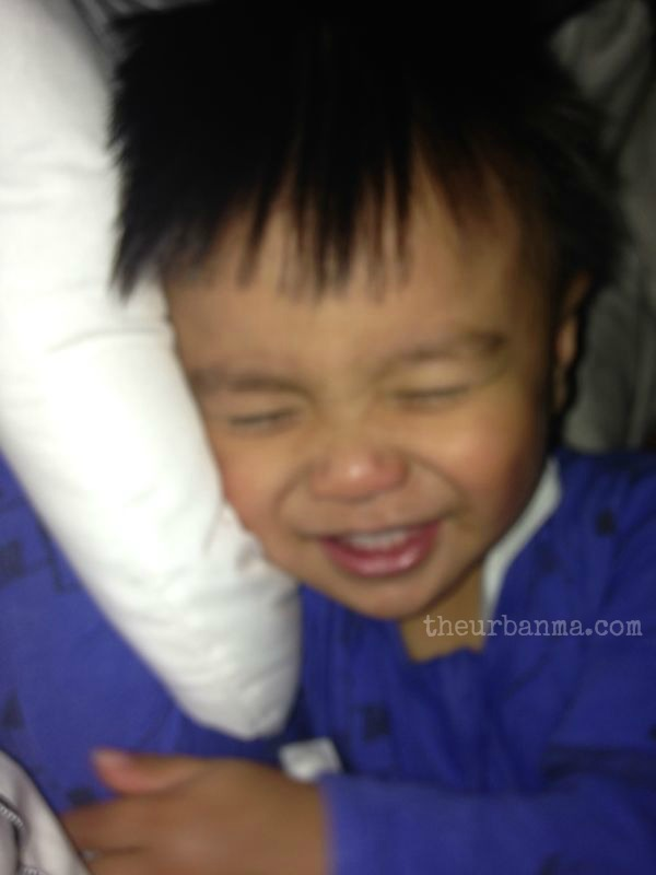 Daniel giggling