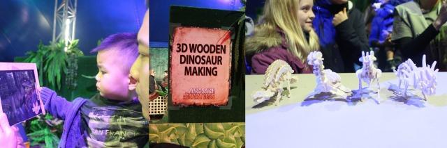Dinosaur wooden