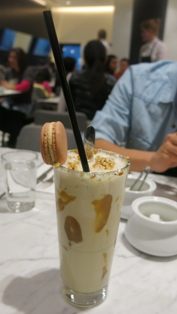 The Urban Ma Becasse Salted caramel toffee popcorn milkshake