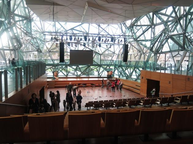 Deakin Edge Melbourne Fed Square