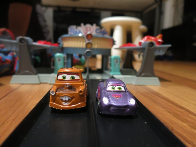 The Urban Ma with Disney cars