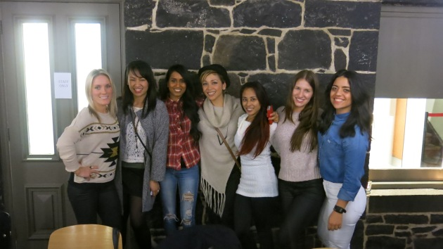 Rewind Girls catchup at Captain Melville's