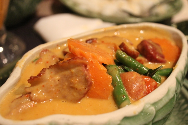 Caroline Thai duck curry