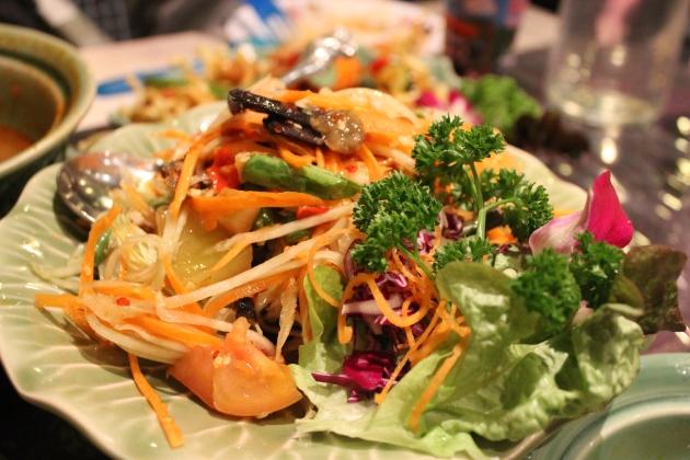 The Urban Ma papaya salad