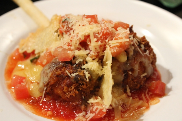 TGIF Parmesan meatballs