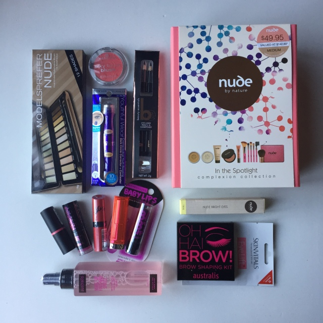 Priceline Haul make up