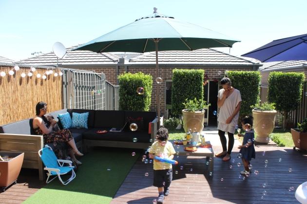 backyard kids party