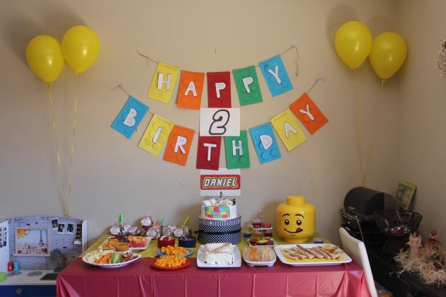 Kids party Lego theme party