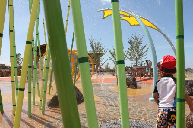 Werribee water park Melbourne playgrounds