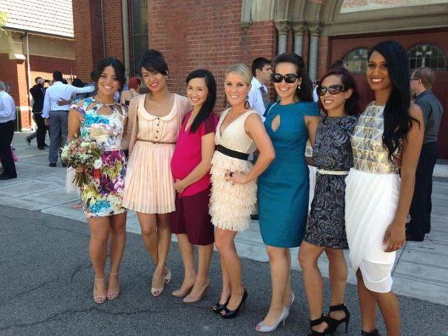 Wedding ladies Mandy's wedding
