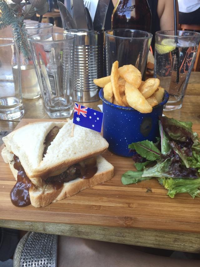 Sweetwater Inn The Urban Ma blog Rissole sandwich