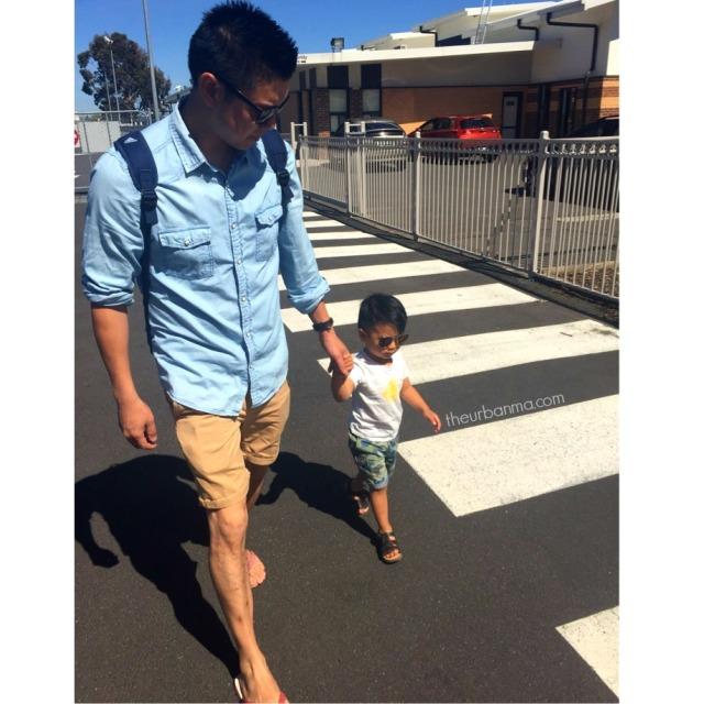Styling Daniel walk