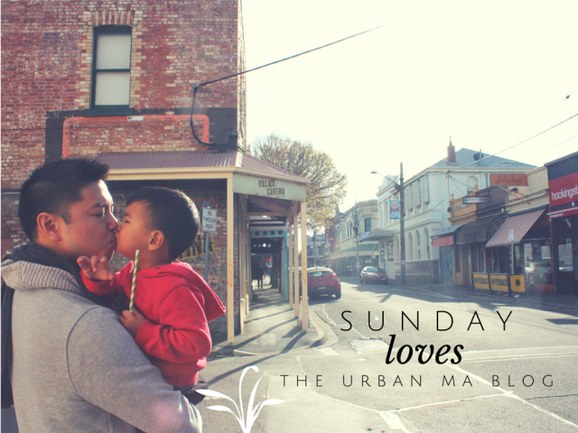 The Urban Ma blog Sunday loves