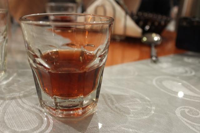 Vimto drink at Safari Somalian restaurant The Urban Ma