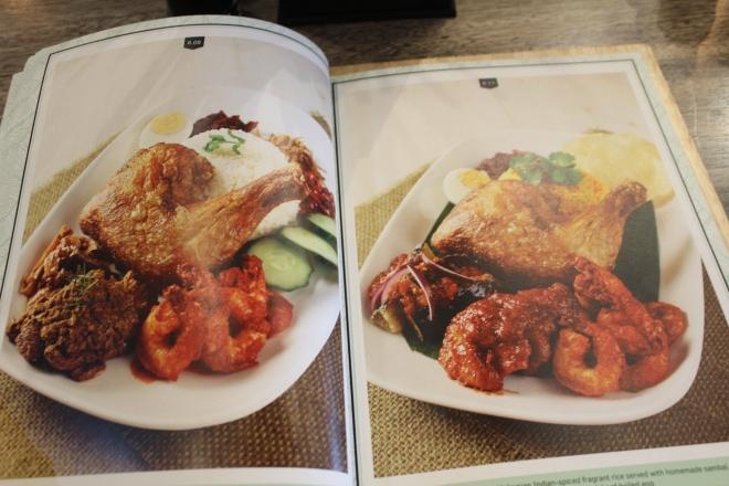 Makan Place menu nasi lemak