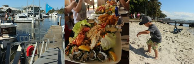 Noosa Marina seafood platter Noosaville The Urban Ma blog
