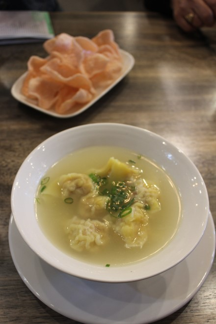 prawn wonton soup