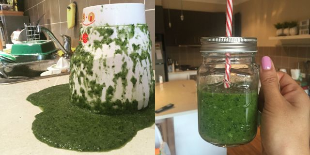 Simple green smoothie The Urban Ma