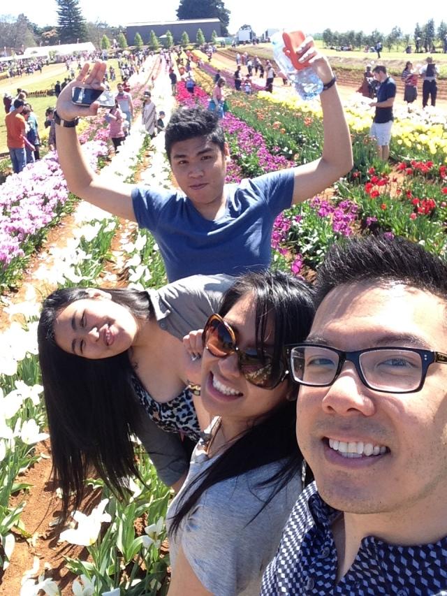 Tulip Festival 2014 selfie